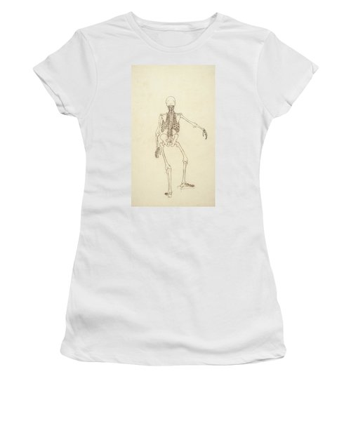 Study Of The Human Figure, Posterior View, From A Comparative Anatomical Exposition Women's T-Shirt