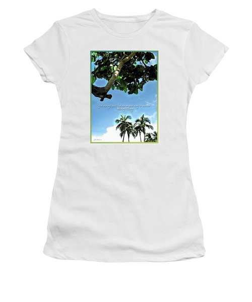 Success And Failure Botanical Inspiration Women's T-Shirt (Athletic Fit)