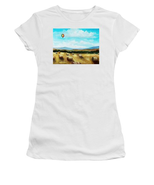 Summer Flight 3 Women's T-Shirt (Athletic Fit)