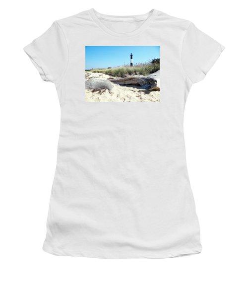 Women's T-Shirt (Junior Cut) featuring the photograph Summer Scene by Ed Weidman