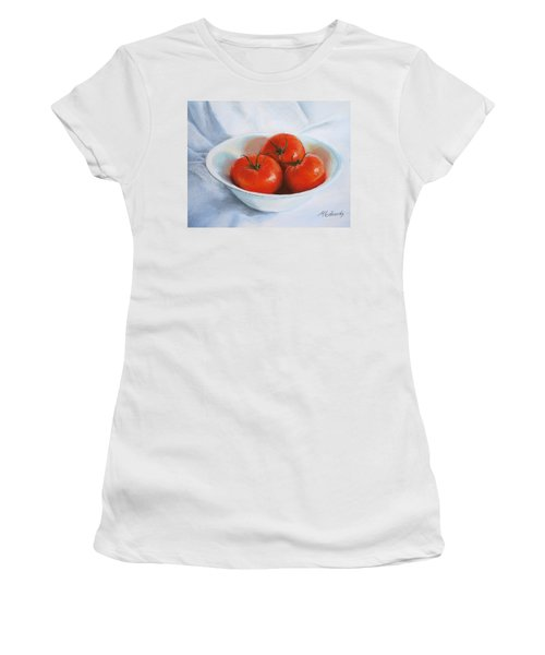 Summer Tomatoes Women's T-Shirt (Athletic Fit)