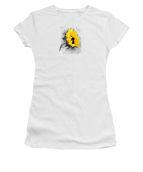 Women's T-Shirt (Junior Cut) featuring the photograph Sun Power by I'ina Van Lawick
