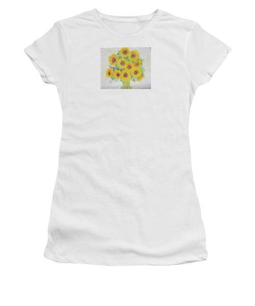 Sunflower Bouquet Women's T-Shirt (Athletic Fit)