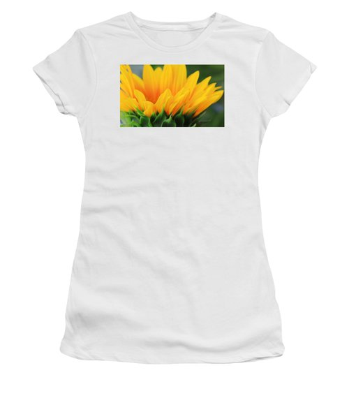 Sunflower Profile Women's T-Shirt (Athletic Fit)