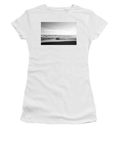 Sunlight On Beach Women's T-Shirt (Athletic Fit)