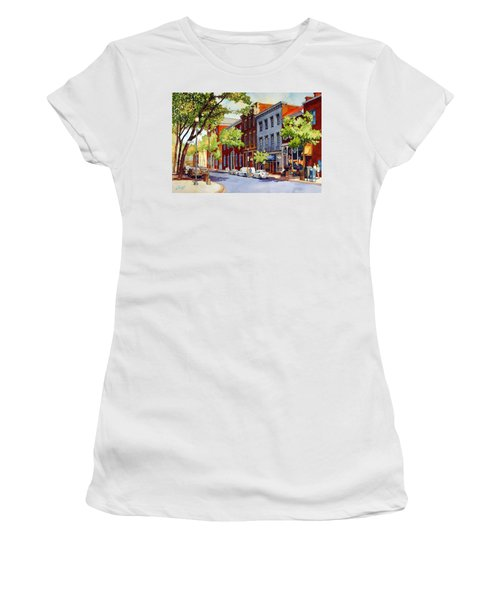 Sunny Day Cafe Women's T-Shirt