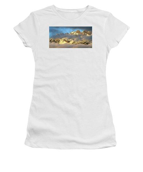 Sunrise On Thompson Peak Women's T-Shirt (Athletic Fit)