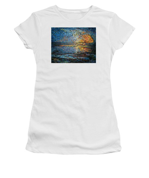 Sunset Before The Storm Women's T-Shirt