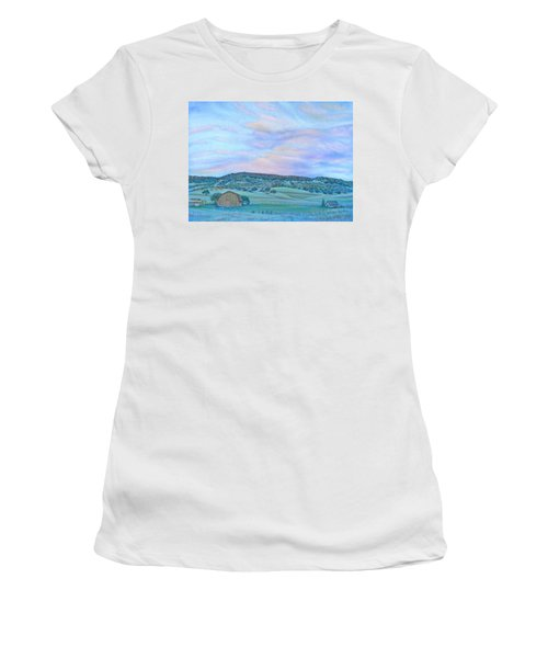 Sunset Over Table Mountain Women's T-Shirt