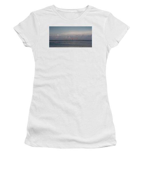 Sunshine Skyway Bridge Women's T-Shirt (Athletic Fit)
