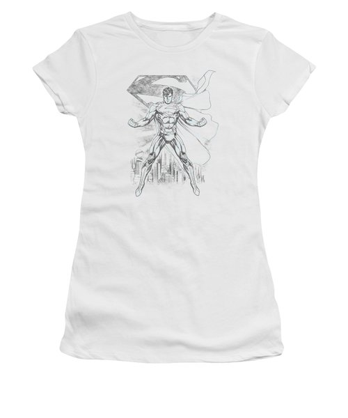 Superman - Super Sketch Women's T-Shirt