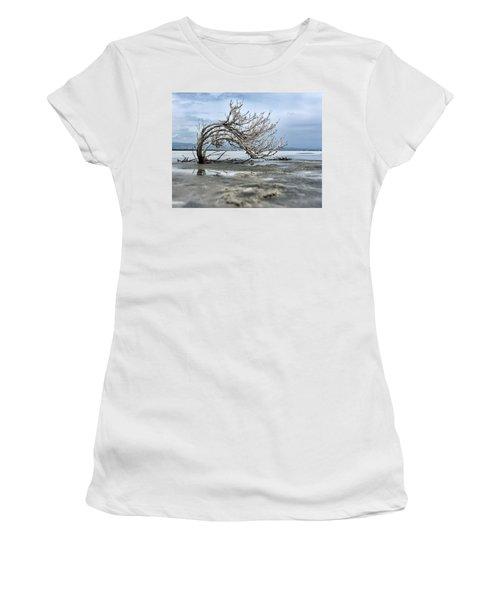 A Smal Giant Bush Women's T-Shirt (Athletic Fit)