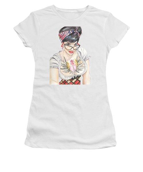 Susy Babi Azevedo Women's T-Shirt (Athletic Fit)