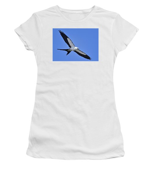 Swallow-tailed Kite Women's T-Shirt (Athletic Fit)