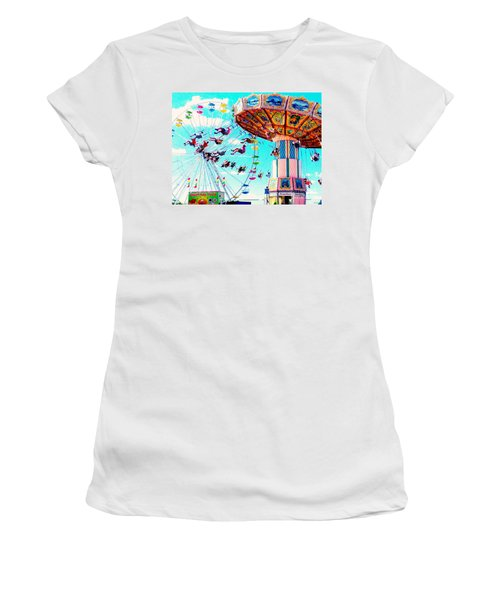 Swingers Have More Fun Women's T-Shirt (Athletic Fit)