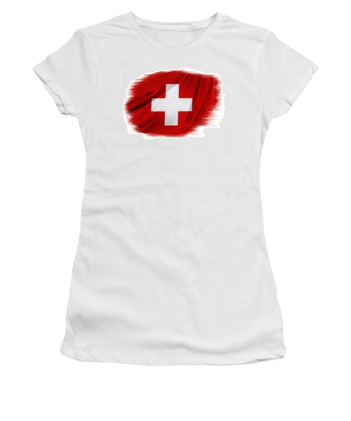 Swiss Flag Women's T-Shirt