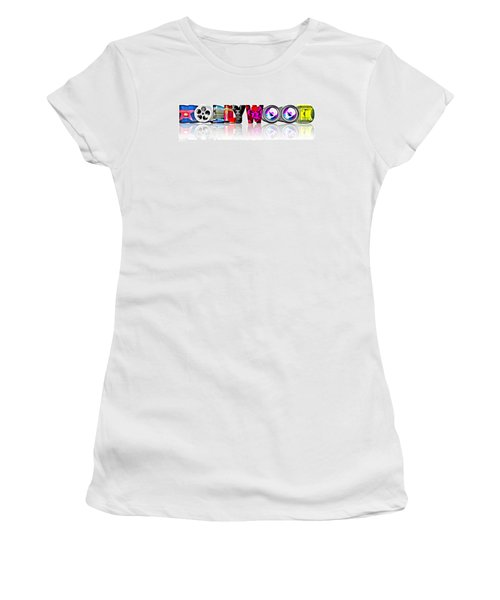 Symbollywood Women's T-Shirt (Athletic Fit)