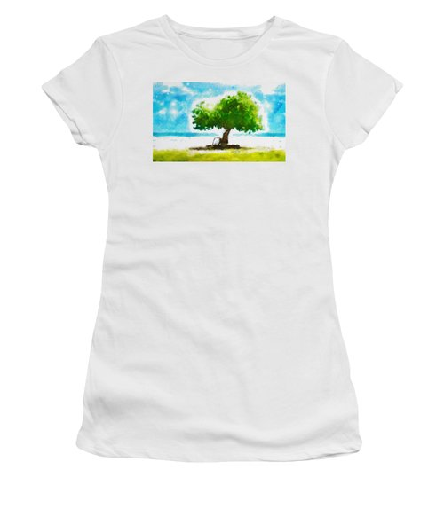 Summer Magic Women's T-Shirt (Athletic Fit)