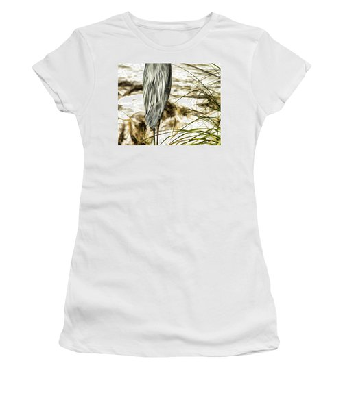 Tail Feathers Women's T-Shirt (Athletic Fit)