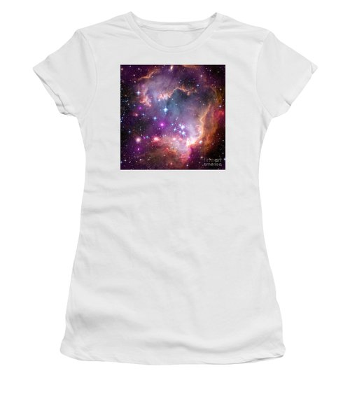 Women's T-Shirt (Junior Cut) featuring the  Taken Under The Wing Of The Small Magellanic Cloud by Paul Fearn