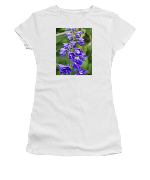 Women's T-Shirt (Junior Cut) featuring the photograph Tall Garden Beauty by Eunice Miller