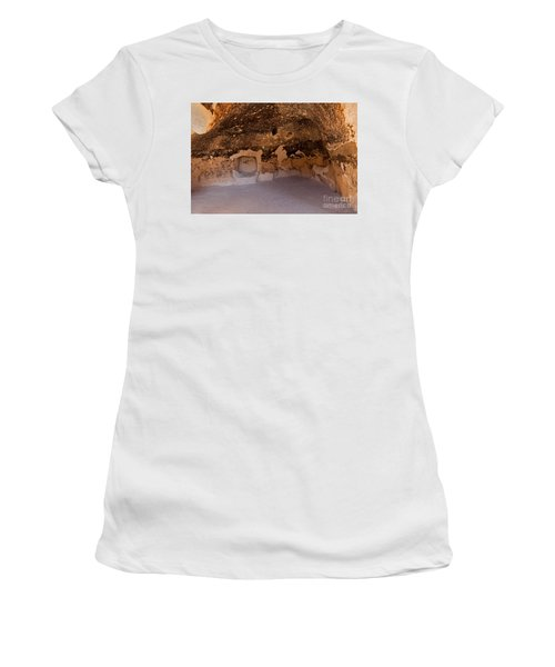 Talus Housefront Room Bandelier National Monument Women's T-Shirt (Athletic Fit)