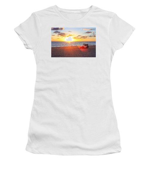 Tamarack At Sunset Women's T-Shirt