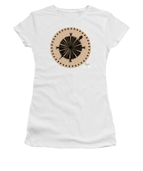Tan Shell Women's T-Shirt (Athletic Fit)