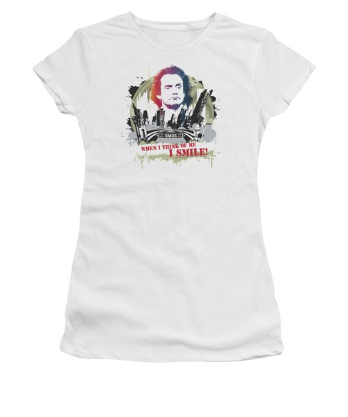 Taxi - Smiling Jim Women's T-Shirt (Athletic Fit)