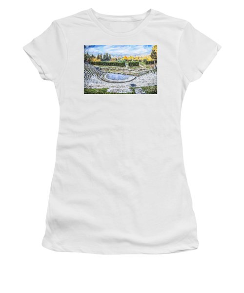Teatro Romano Fiesole Tuscany Women's T-Shirt (Athletic Fit)