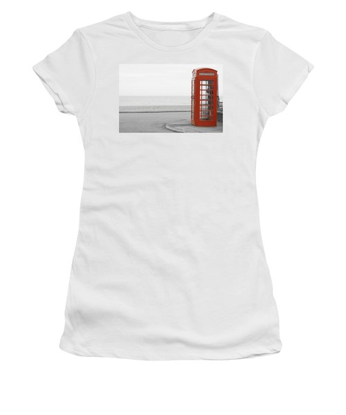 Telephone Booth Women's T-Shirt (Athletic Fit)
