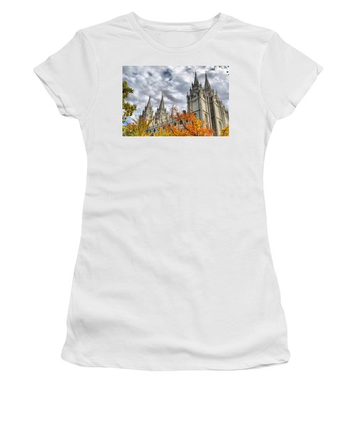 Temple Trees Women's T-Shirt (Athletic Fit)