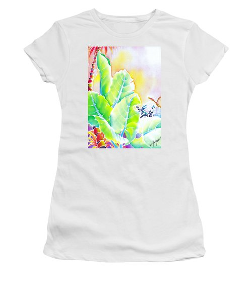 Tender Evening Women's T-Shirt (Athletic Fit)