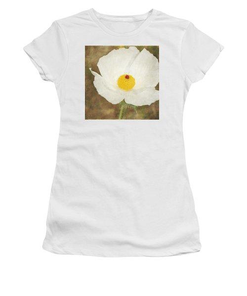 Texas Prickly Poppy Wildflower Women's T-Shirt