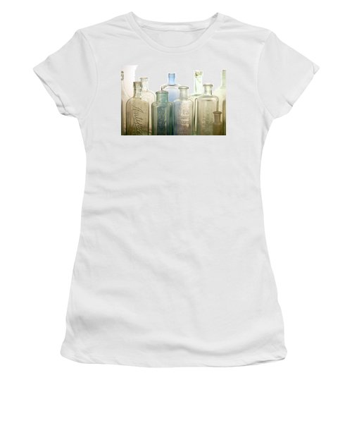 The Ages Reflected In Glass Women's T-Shirt (Junior Cut) by Holly Kempe