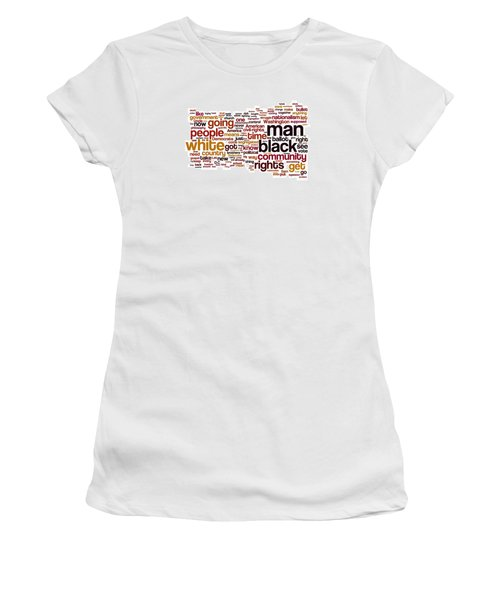 The Ballot Or The Bullet By Malcolm X Women's T-Shirt