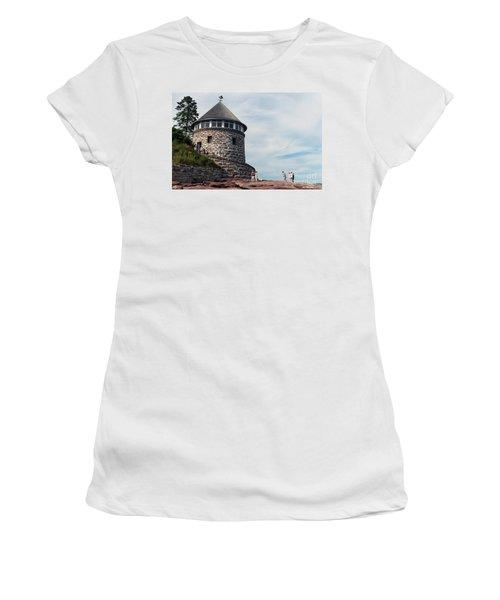 The Bath House On Ministers Island Nb Women's T-Shirt