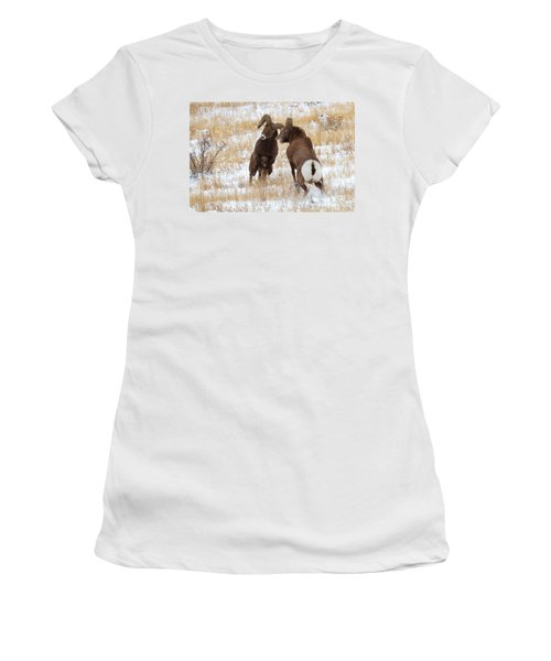 The Battle For Dominance Women's T-Shirt (Athletic Fit)