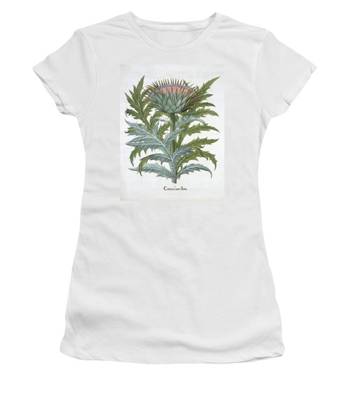 The Cardoon, From The Hortus Women's T-Shirt (Junior Cut) by German School