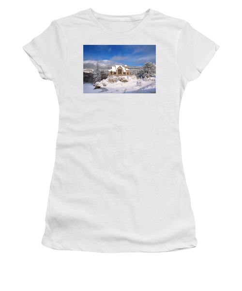 The Chapel On The Rock 3 Women's T-Shirt (Athletic Fit)
