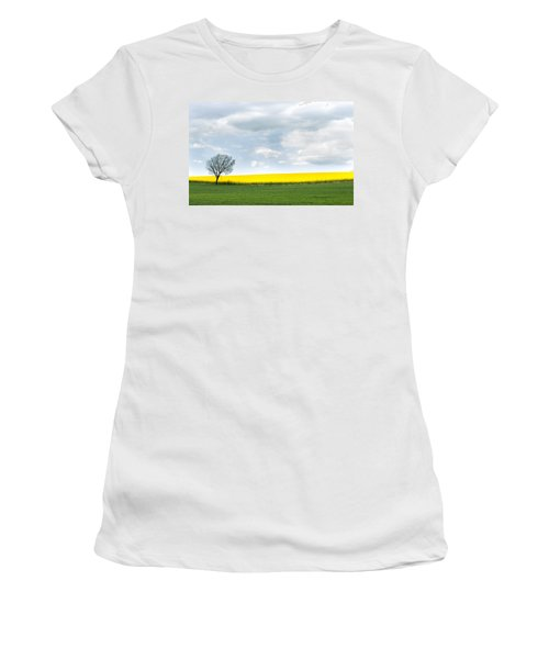 The Colors Of Spring Women's T-Shirt (Athletic Fit)