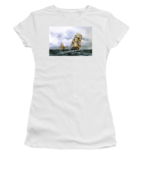 The Cutty Sark And The Red Clipper Women's T-Shirt