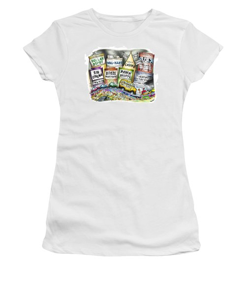 The Delights Of Modern Civilization Women's T-Shirt