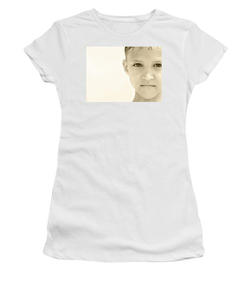 The Eye Of A Child Women's T-Shirt (Athletic Fit)