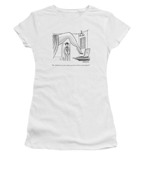 The Famous Shot From The Graduate Where Mrs Women's T-Shirt
