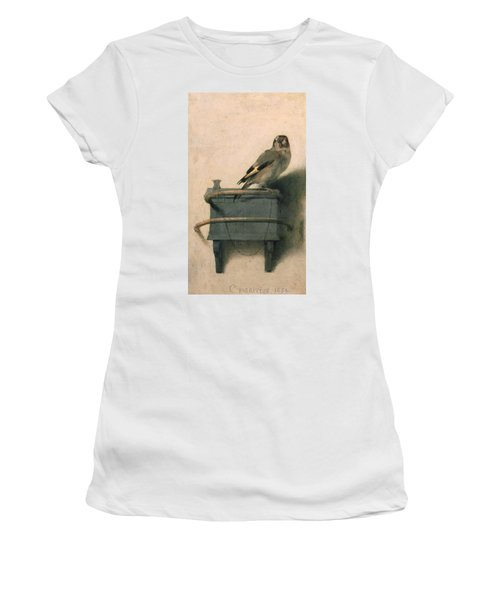The Goldfinch Women's T-Shirt (Athletic Fit)