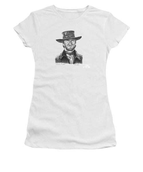 Women's T-Shirt (Junior Cut) featuring the drawing the Good by Marianne NANA Betts