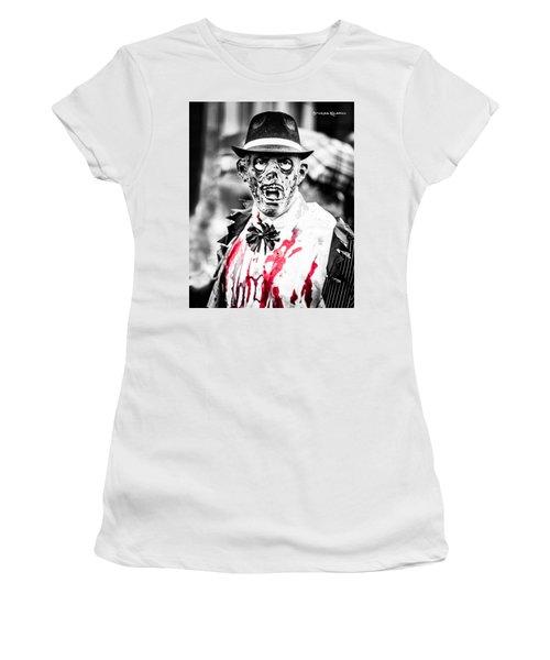 The Gory Creepy Zombie  Women's T-Shirt