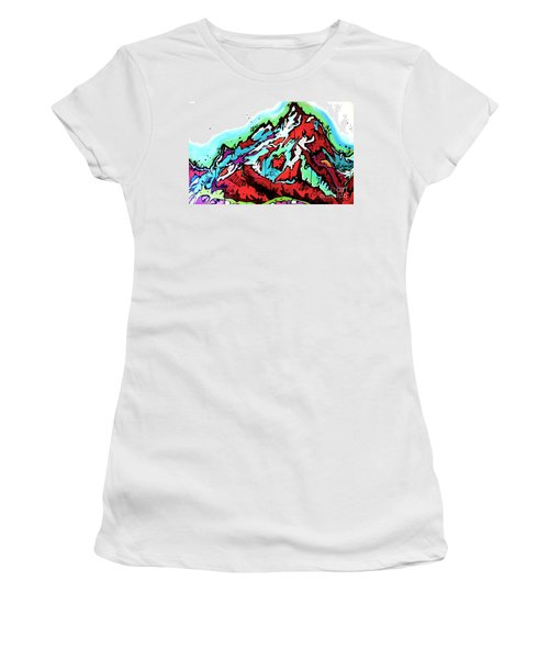 The Grand From Jackson Lake Women's T-Shirt