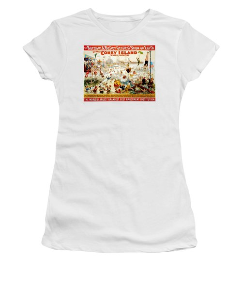 The Great Coney Island Water Carnival Women's T-Shirt